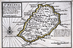 Map of St. Helena Island