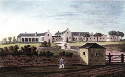 """View of Buonaparte's New Mansion"""