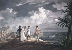 """Bonaparte on St. Helena Island"""