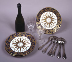 Tableware belonging to Charles Maurice de Talleyrand-P�rigord,