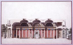 Sketch of a pavilion for Napol�on I�s coronation festivities